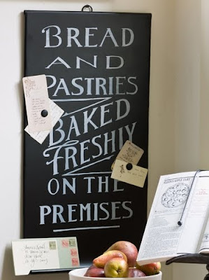 bakery magnet board
