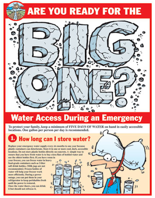 flier: water access during an emergency