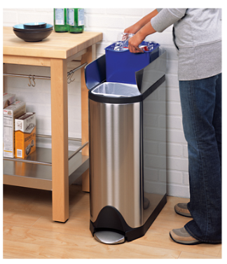 Jeri s organizing decluttering news recycling made easier recycling bins - Recycle containers for home use ...