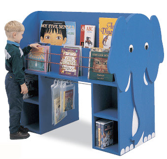 elephant book display
