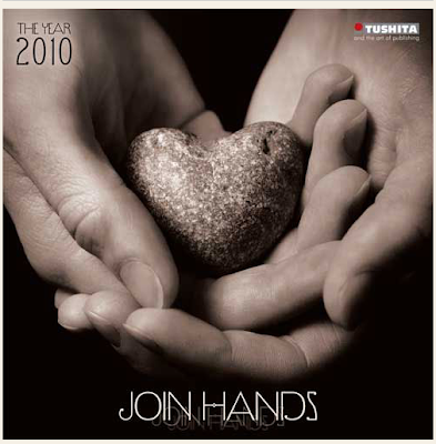 Join Hands 2010 calendar, by Tushita