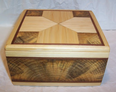 wood box, recycled wood