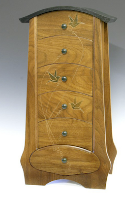 handcrafted jewelry chest