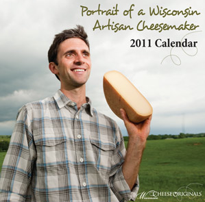 Portrait of a Wisconsin Artisan Cheesemaker calendar
