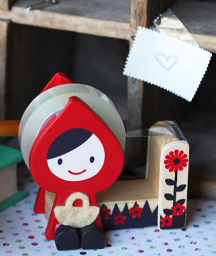 Red Riding Hood tape dispenser