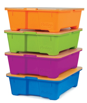 colorful storage bins for toys and more