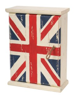 Union Jack key box