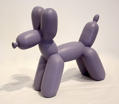 balloon dog bookend