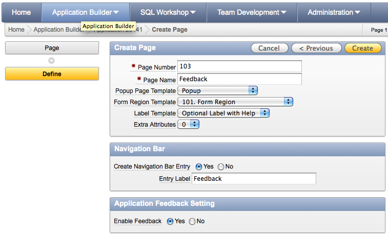 Dimitri Gielis Blog (Oracle Application Express - APEX): CD