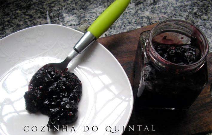 Geléia de Amora na Cozinha do Quintal