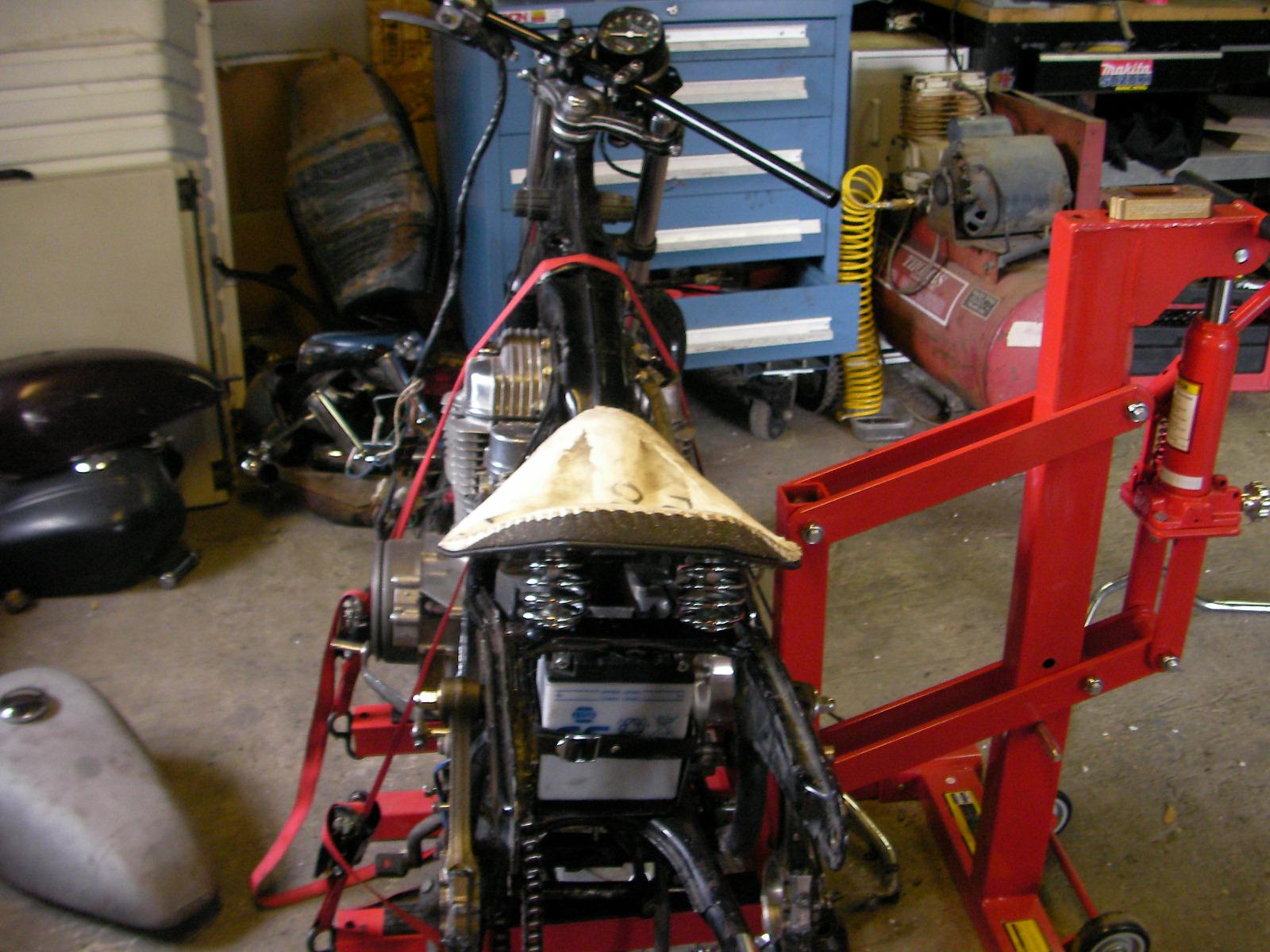 Sunpro Drag N Tach Wiring Diagram Briggs Carb Linkage Sic Figure Cycles Seat Pan Mounted