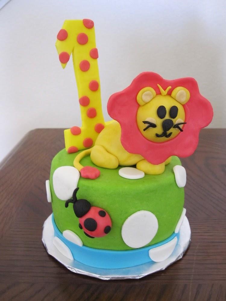 Ms Cakes Safari Friends Cake
