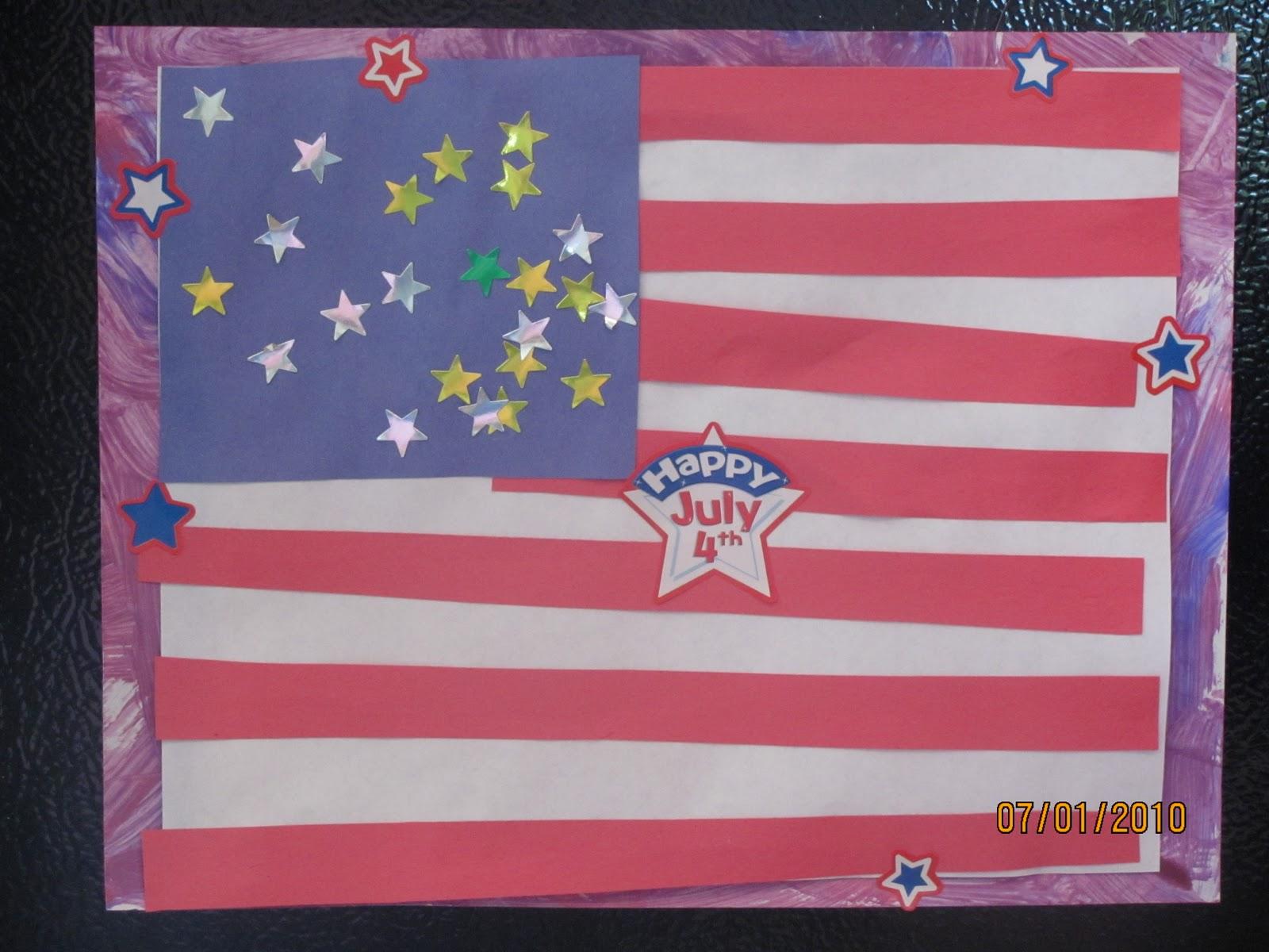 Independence Day Crafts For Kindergarten