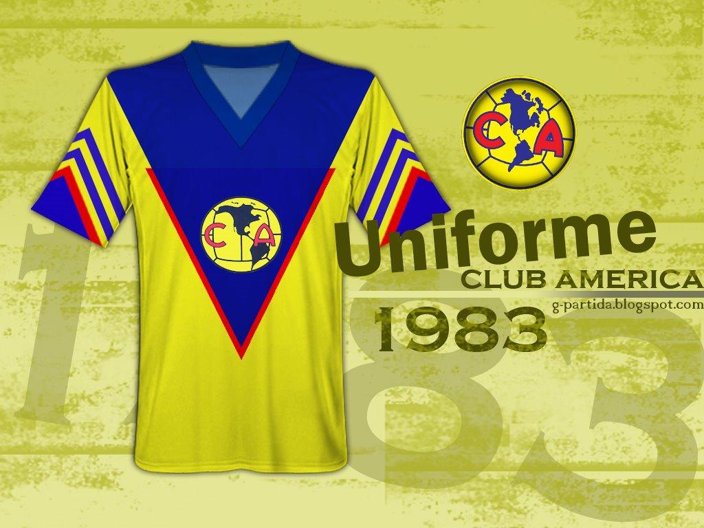 34b56d986 LA MONUMENTAL 16  UNIFORME CLUB AMERICA 1983