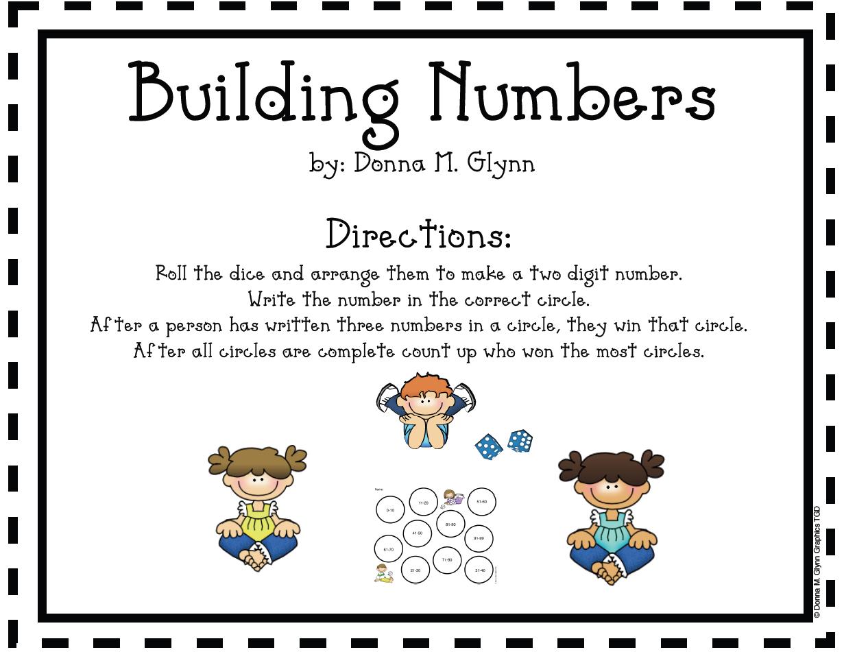Welcome To Kinderglynn Math Games