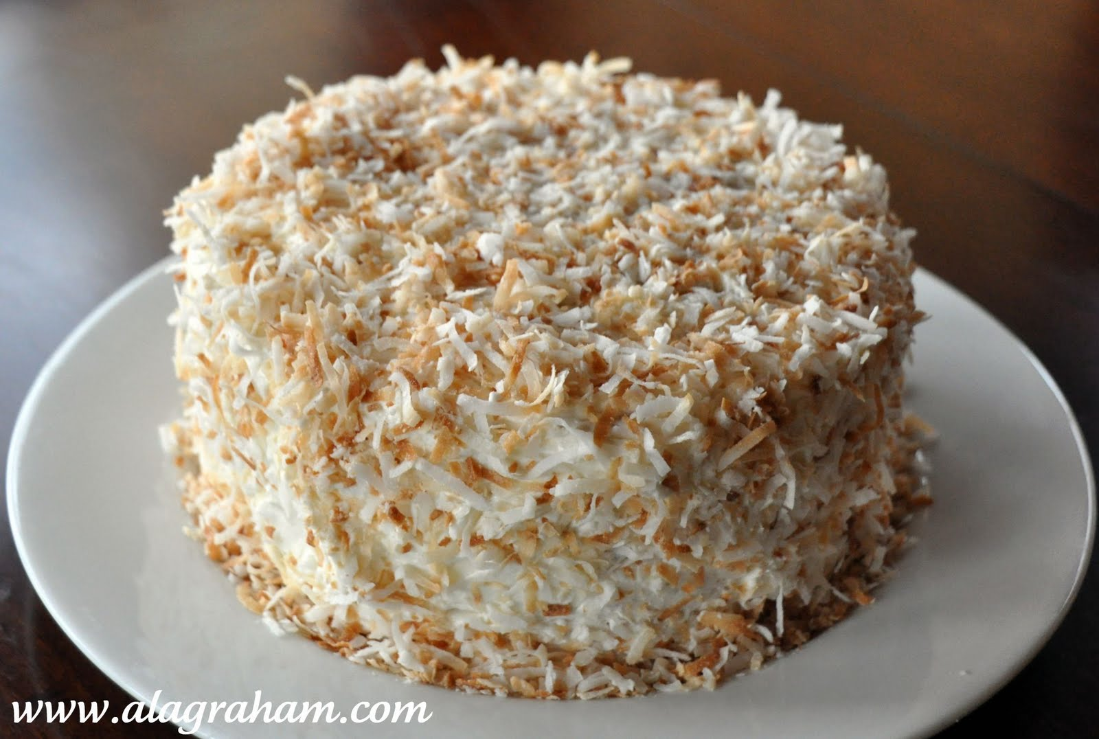 A La Graham The Best Coconut Cake