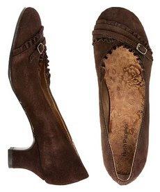 zapatos marron mujer