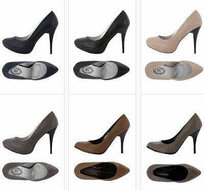 zapatos tacon oferta
