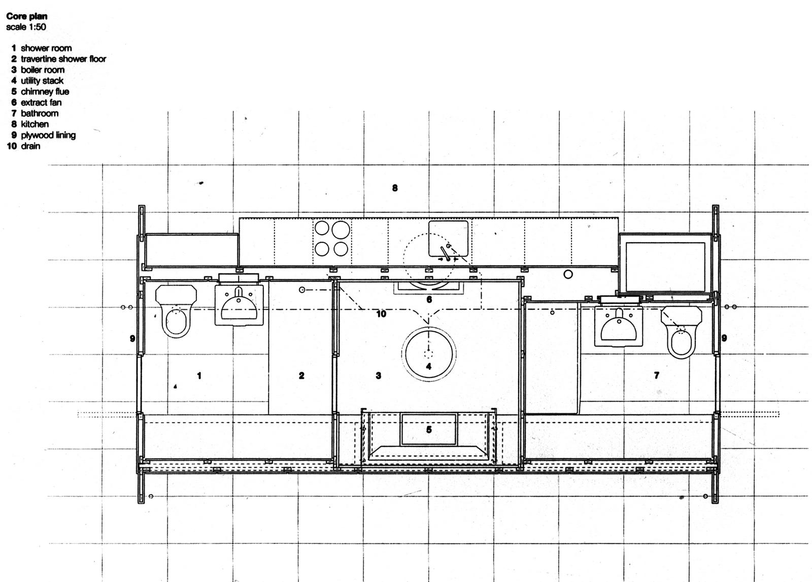 Cavica proyectos de arquitectura casa farnsworth for Medidas en arquitectura pdf