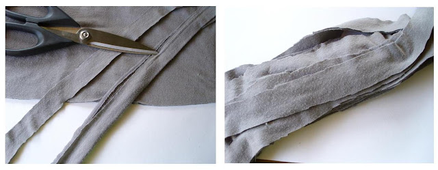 Recycled Tee Scarf || #recycle || Shwin&Shwin