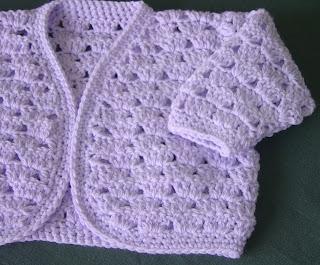 Enthusiastic Crochetoholic Crochet Baby Bolero