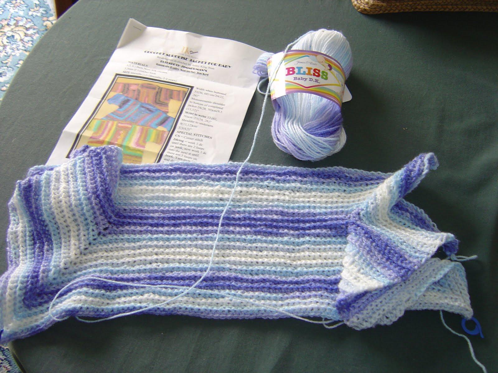 Enthusiastic Crochetoholic Crochet Baby Surprise Jacket