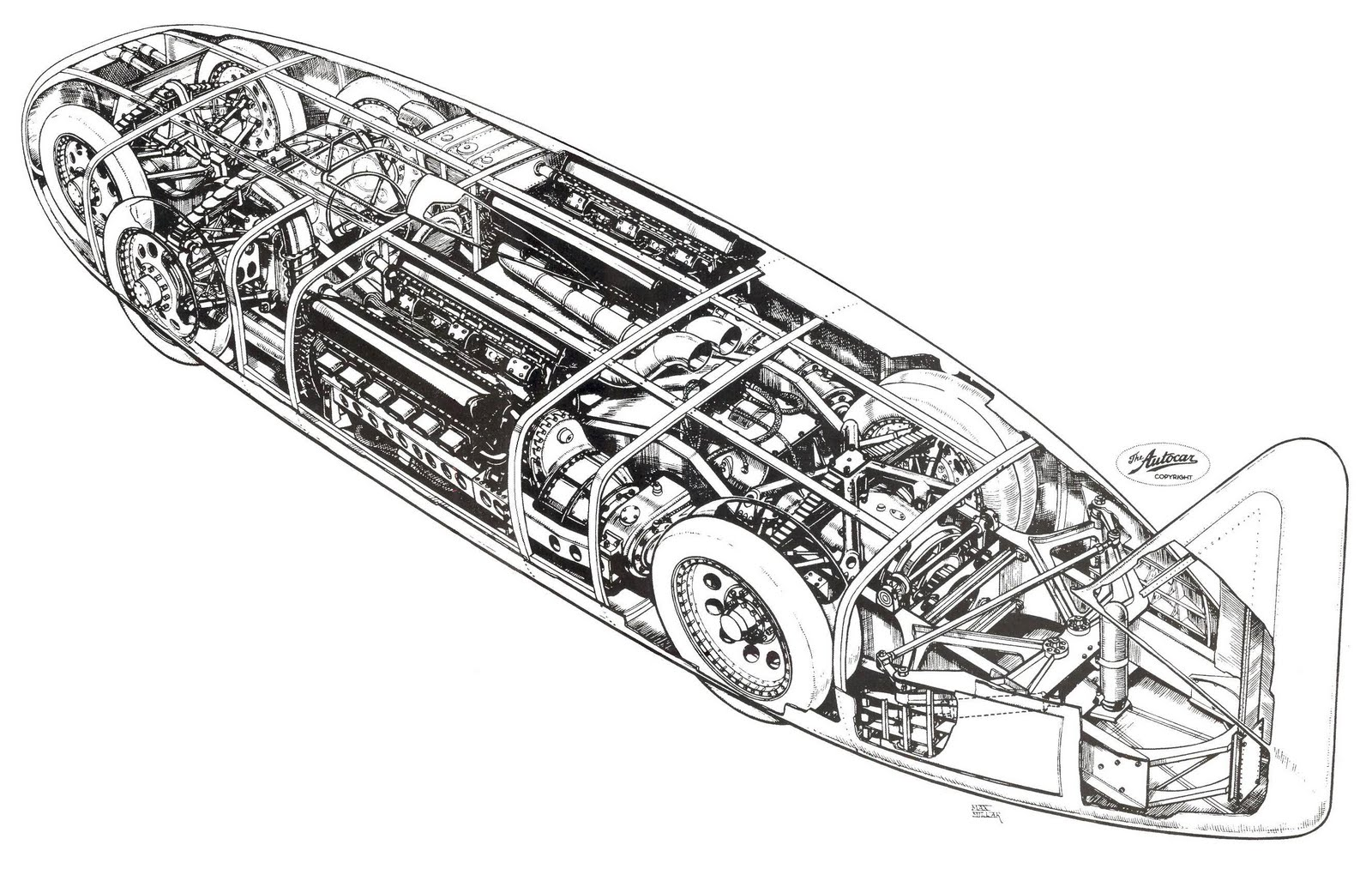 Scootermcrad S Whatchaworks Cutaway Illustrations