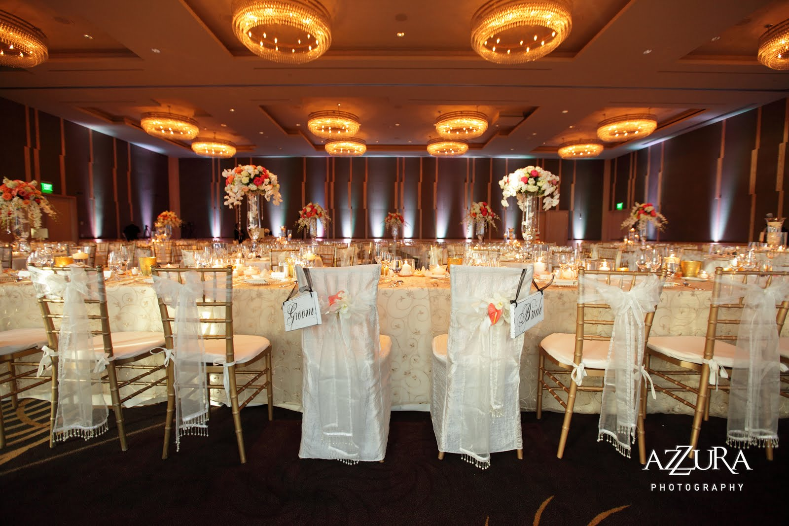 Down The Aisle Head Table Or Sweetheart Table: Amazing Real Wedding