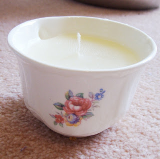 image teacup candle vanilla