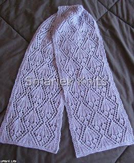 b97ff6e97 Petra Lace Scarf Pattern ~ smariek knits