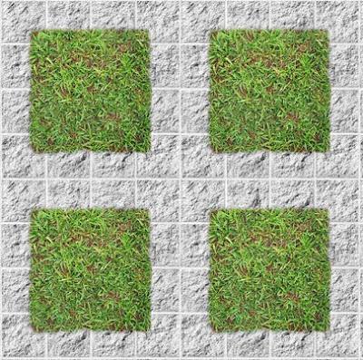 Material personalizado - Baldosas de hormigon para jardin ...