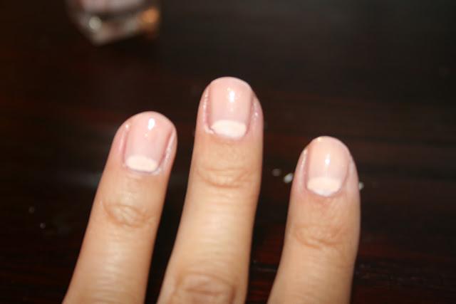 Sparkle is a Color: tue-torial: half-moon manicure