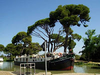 French hotel barge EMMA Canal du Midi, south of France