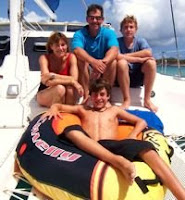 Family sailing vacations aboard the Catamaran Marolanga - ParadiseConnections.com