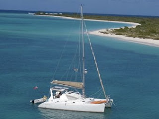Charter catamaran Alexis in the Virgin Islands or the Grenadines. Contact ParadiseConnections.com