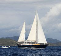 Charter Yacht Contessa in the Virgin Islands with ParadiseConnections.com