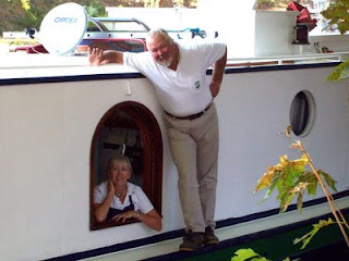 Liz & Rene, French Hotel Barge Emma