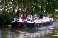 French Hotel Barge Athos canal du midi south of France - Book with ParadiseConnections.com