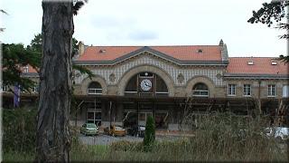 ancienne gare de trains de Châtel-Guyon