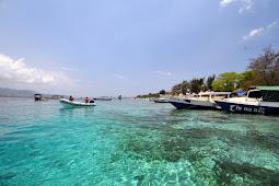 Alam Bawah Laut Pulau Gili Meno - Lombok Utara