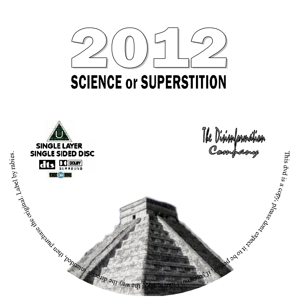 .: 2012 Science or Superstition