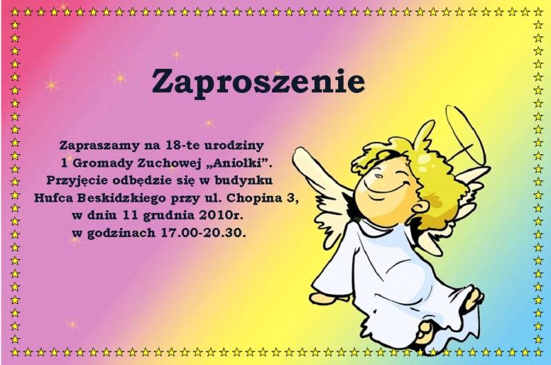21 Gz Leśne Skrzaty Zaproszenie