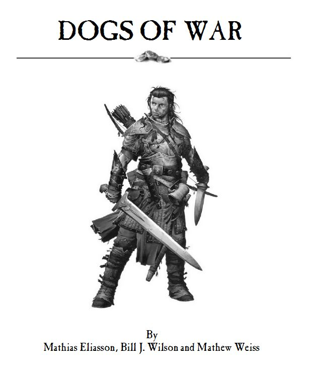 Warhammer Fantasy Battle Tabletop Gaming: Dogs of War