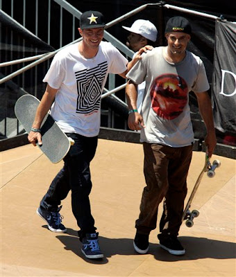 The following 3 pictures from the X games are from ESPN.com and the picture  of Rune in the Black Converse shirt is from Converse. 0a47935e1e