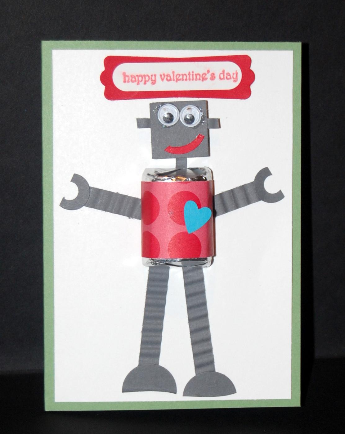 Patty Creates: Robot Valentine
