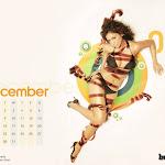 2008 Calender Wallpapers Of Parmita Katkar & Sandhya Shetty