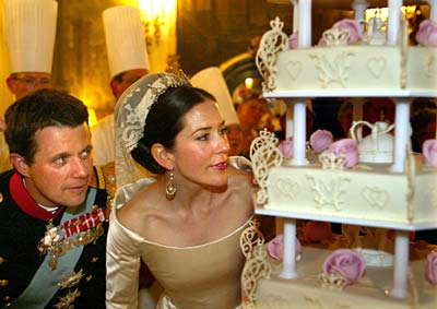 Princesses lives Mary and Frederik