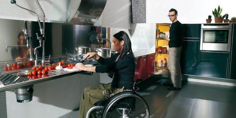 Cozinha para Cadeirantes  Design Innova