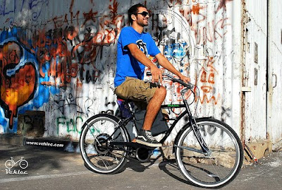 bicicleta electrica en rosario