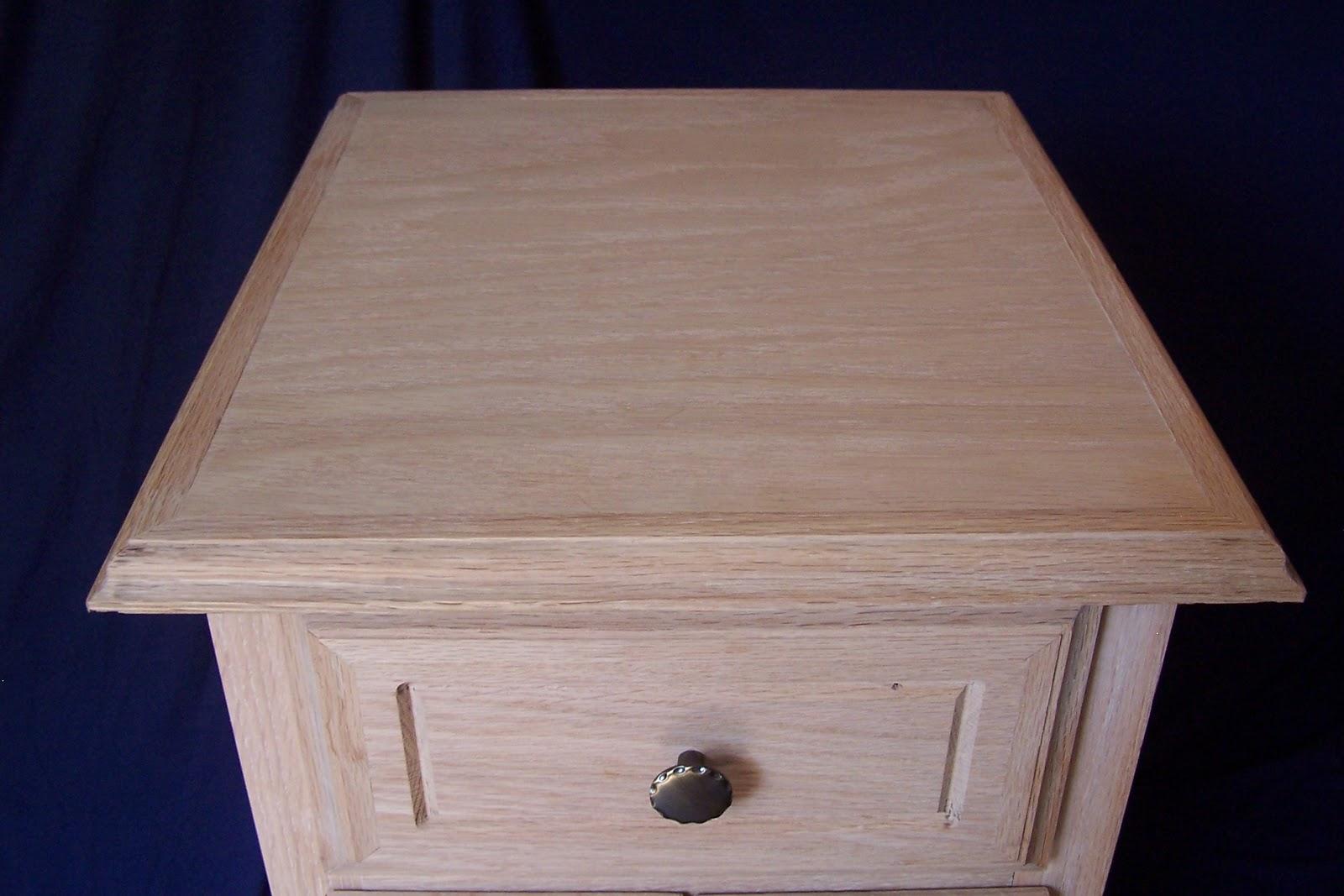 Kindelspire Custom Woodworking: Large Unfinished Oak End